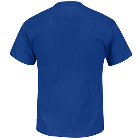 New York Giants Majestic NFL Critical Victory T-Shirt - Blue