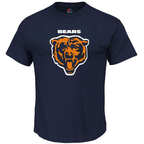 Chicago Bears Majestic NFL Critical Victory T-Shirt - Navy