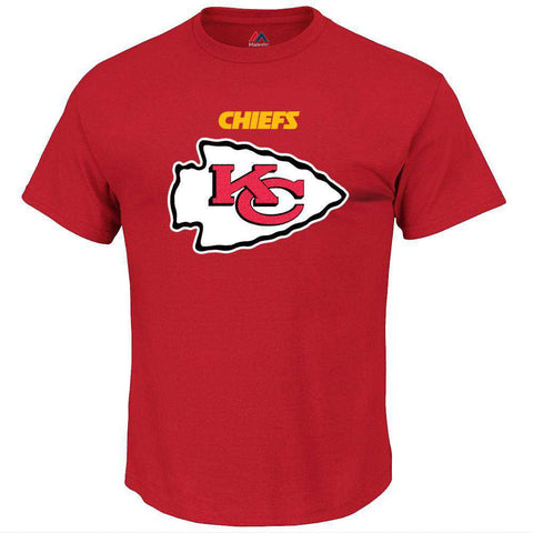 Kansas City Chiefs Majestic NFL Critical Victory T-Shirt - Red