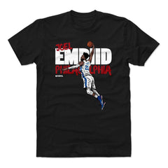 Joel Embiid Philadelphia 76ers 500 Level NBA Graffiti T-Shirt - Black