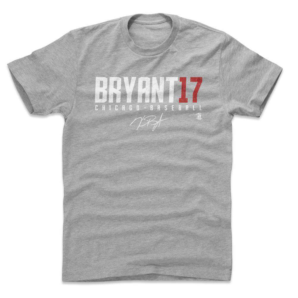 brand new bcc90 af92f Kris Bryant Chicago Cubs 500 Level MLB Name T-Shirt - Grey