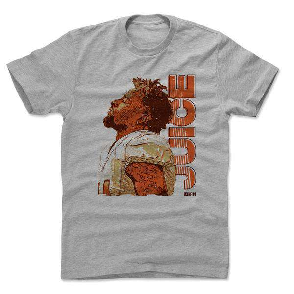 Jarvis Landry Cleveland Browns 500 Level NFL Juice T-Shirt - Grey ... 1f2f492c1