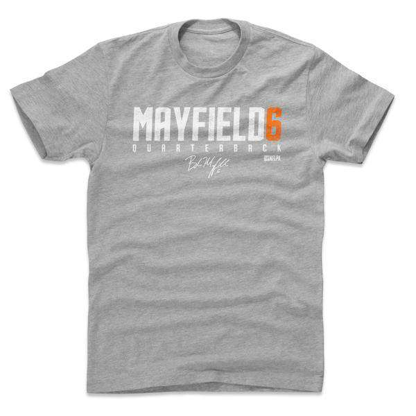 Baker Mayfield Cleveland Browns 500 Level NFL W WHT T-Shirt - Grey
