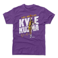 Kyle Kuzma Los Angeles Lakers 500 Level NBA Slam T-Shirt - Purple