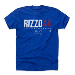 Anthony Rizzo Chicago Cubs 500 Level MLB Name T-Shirt - Blue