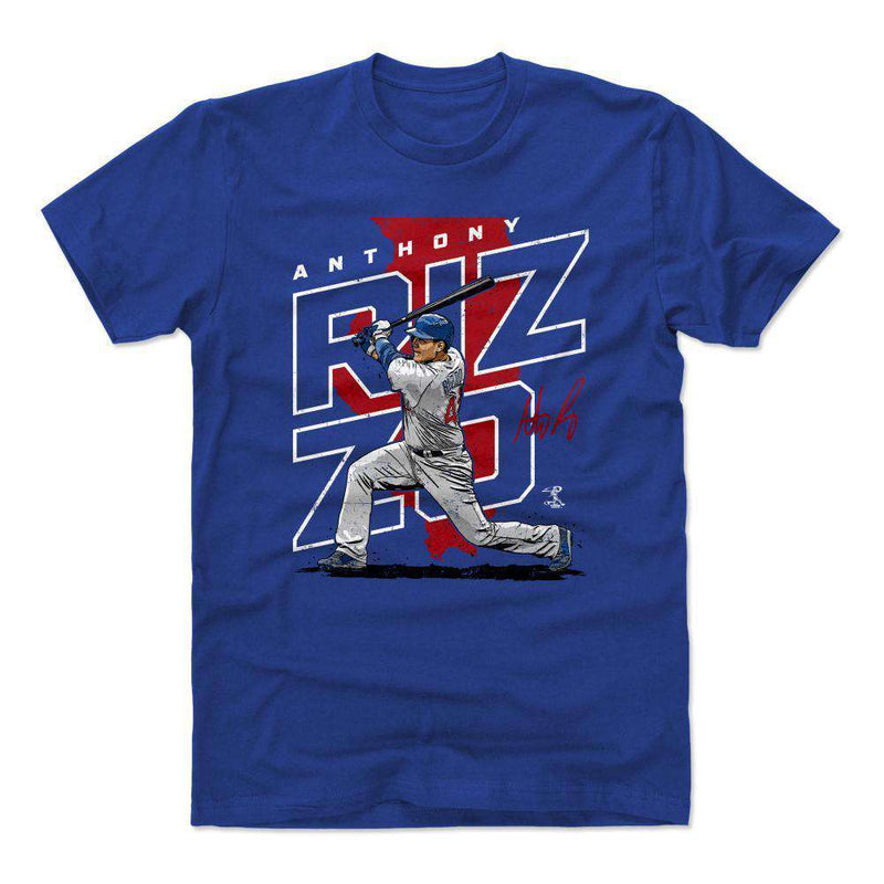 Anthony Rizzo Chicago Cubs 500 Level MLB Player T-Shirt - Blue