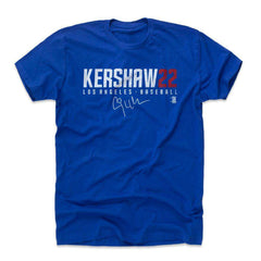 Clayton Kershaw Los Angeles Dodgers 500 Level MLB Name T-Shirt - Blue
