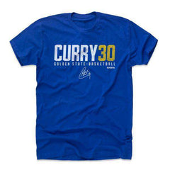 Steph Curry Golden State Warriors 500 Level NBA Curry 30 T-Shirt - Blue