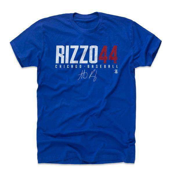 Anthony Rizzo Chicago Cubs 500 Level MLB Rizzo44 T-Shirt - Blue