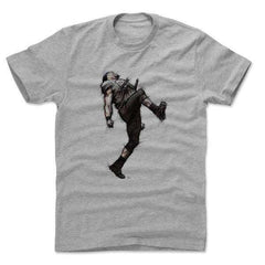 Ray Lewis Baltimore Ravens 500 Level NFL Dance Sketch T-Shirt - Grey