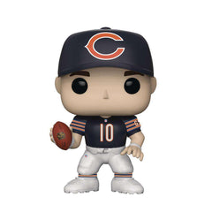 "Mitch Trubisky Chicago Bears NFL Funko Pop Vinyl 3.75"" Figure - Navy"