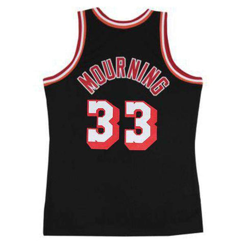 Alonzo Mourning Miami Heat Mitchell & Ness NBA 96-97 Swingman Jersey - Black