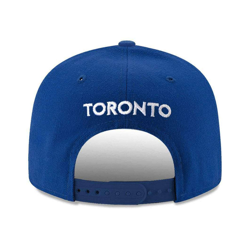 Toronto Blue Jays New Era MLB Alt Team Pre-Curved 9FIFTY Snapback Hat - Blue