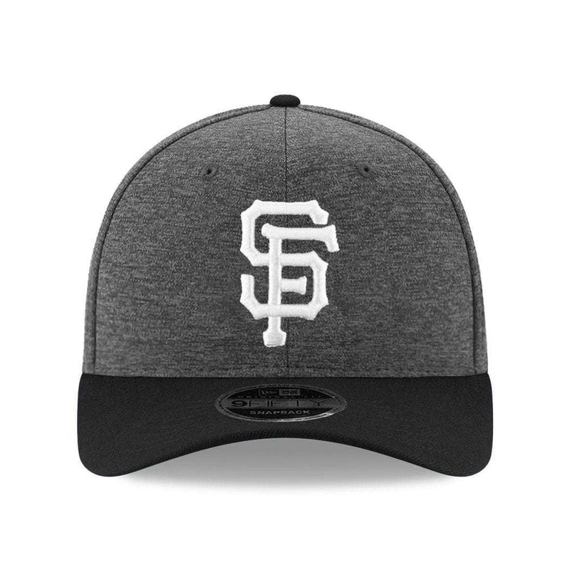 San Francisco Giants New Era MLB Shadow Tech 9FIFTY Pre-Curved OF Snapback Hat