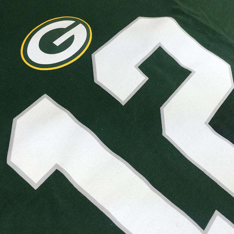Aaron Rodgers Green Bay Packers NFL PA Player T-Shirt - Green