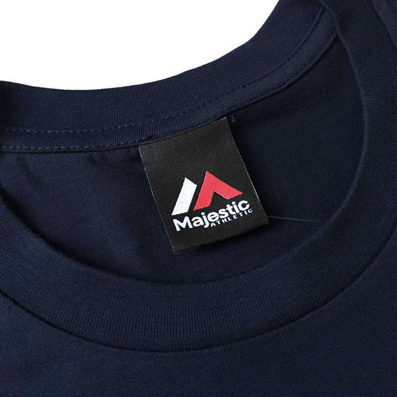 Cleveland Indians Majestic MLB Despa T-Shirt - Navy