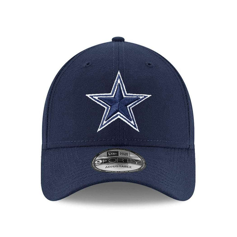 Dallas Cowboys New Era NFL 9FORTY Curve Hat - Navy
