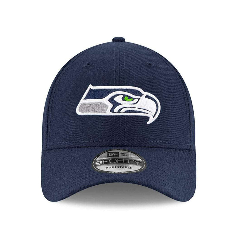 Seattle Seahawks New Era NFL 9FORTY Curve Hat - Navy