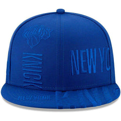 New York Knicks New Era NBA 2019 Tonal Tip-Off 9FIFTY Snapback Hat - Blue