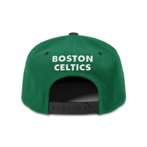 Youths Boston Celtics Outerstuff NBA 2 Tone Snapback Hat - Green