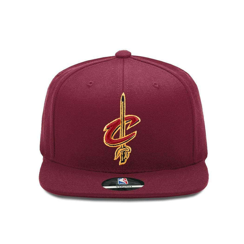 Youths Cleveland Cavaliers Outerstuff Team NBA Snapback Hat - Wine