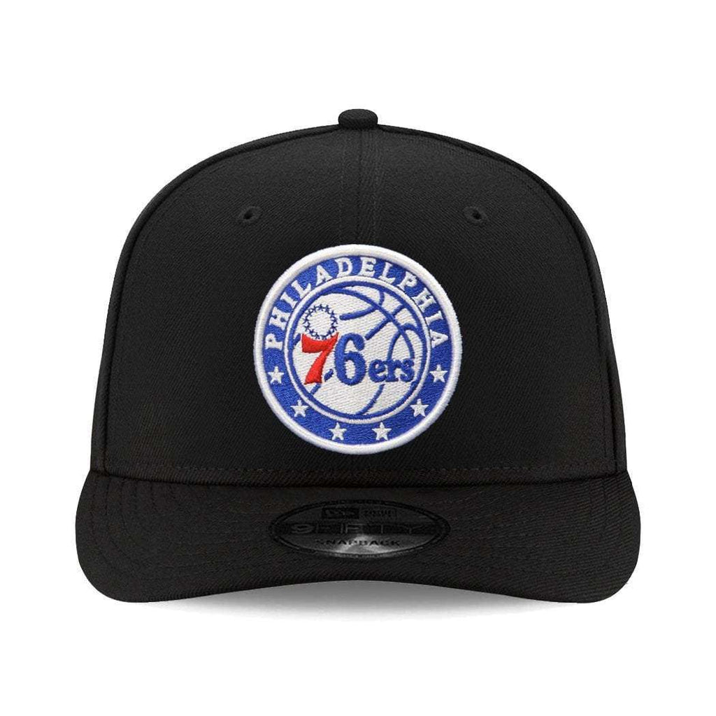 buy online f4efc f3613 ... australia philadelphia 76ers new era nba team pre curved 9fifty  snapback hat black 4939b 3457d