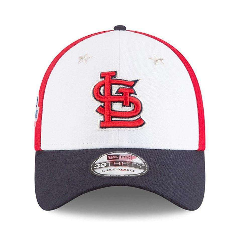 new product 6c896 7189b ... hot st louis cardinals new era 2018 mlb all star 39thirty curved hat  fe035 62c0a