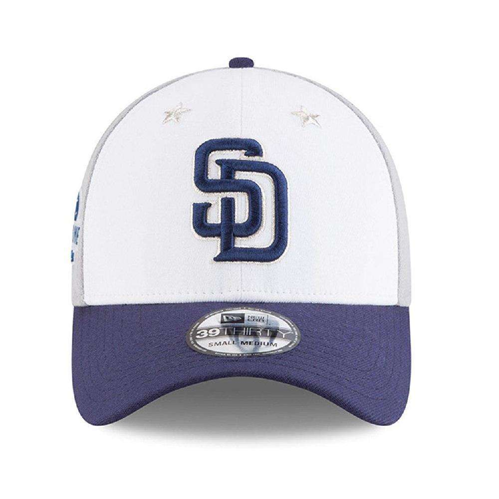factory authentic 58248 4788b shopping san diego padres new era 2018 mlb all star 39thirty curved hat  a4a33 52864