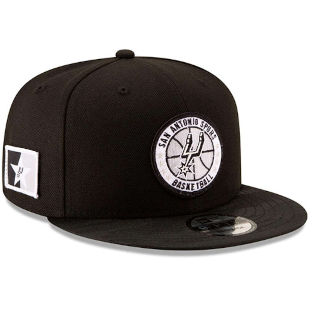 6fe7b0b6680 San Antonio Spurs New Era NBA 2018 Tip-Off 9FIFTY Snapback Hat - Black
