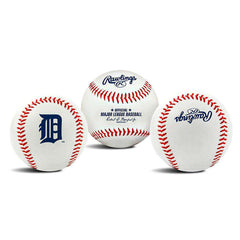 Detroit Tigers Rawlings MLB Team Logo Baseball Ball