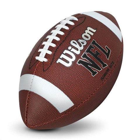 Wilson NFL Pee Wee NFL Junior Stripe Football Ball