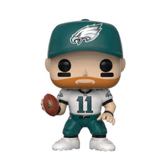 "Carson Wentz Philadelphia Eagles NFL Funko Pop Vinyl 3.75"" Figure - White"