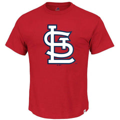 St Louis Cardinals Majestic MLB Precision Play T-Shirt - Red