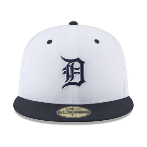 Detroit Tigers New Era MLB 2018 Prolight BP 59FIFTY Fitted Hat - White
