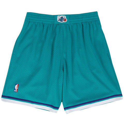 Charlotte Hornets Mitchell & Ness NBA Swingman Shorts - Teal