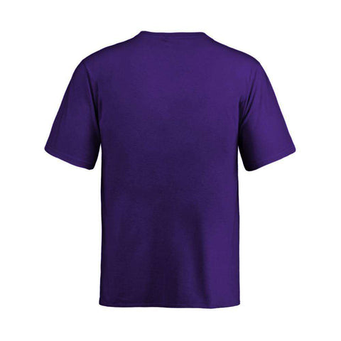 Youths Los Angeles Lakers Outerstuff Ultra NBA Logo T-Shirt - Purple