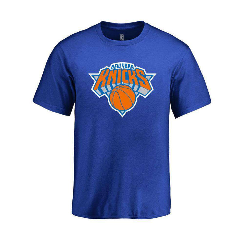Youths New York Knicks Outerstuff NBA Logo T-Shirt - Blue