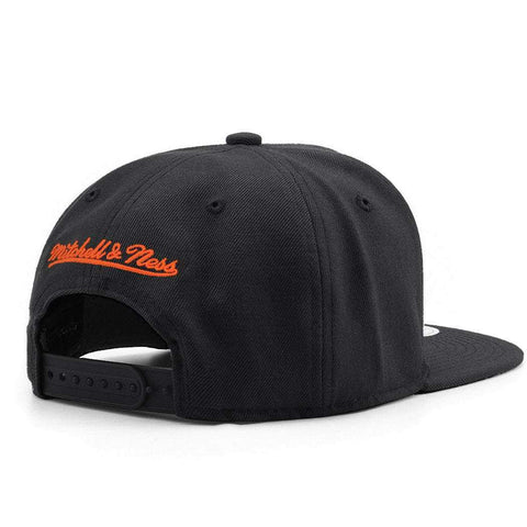 Anaheim Ducks Mitchell & Ness NHL Team Snapback Hat - Black
