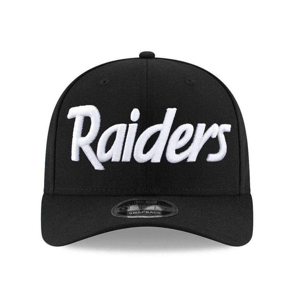 826d2c273 ... coupon code for oakland raiders new era nfl script pre curved of 9fifty snapback  hat black