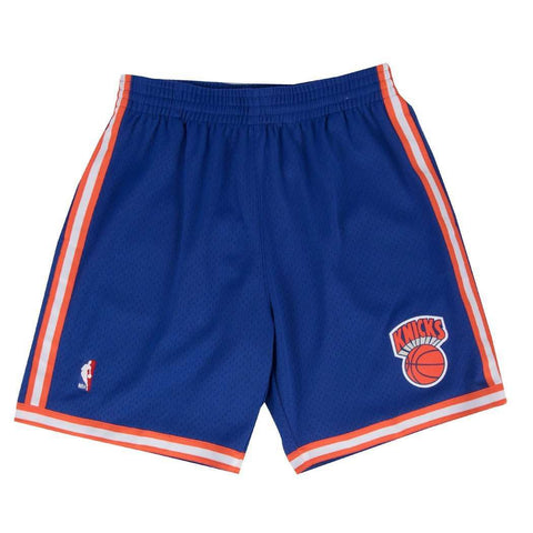 New York Knicks Mitchell & Ness NBA Swingman Shorts - Blue
