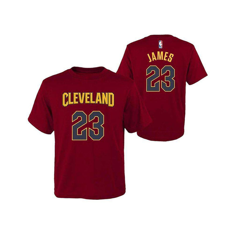 Toddler LeBron James Cleveland Cavaliers Outerstuff NBA Player T-Shirt - Burgundy