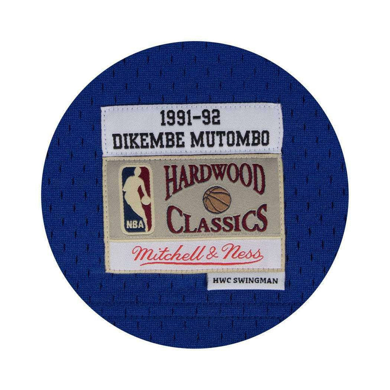 Dikembe Mutombo Denver Nuggets Mitchell & Ness NBA Swingman Jersey - Blue