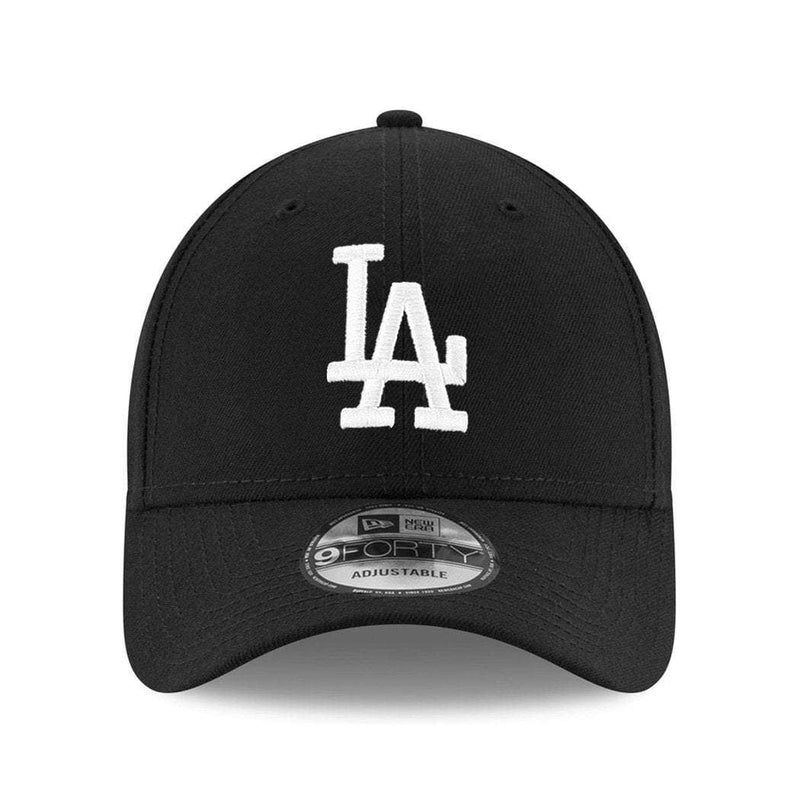 LA Dodgers New Era MLB Black & White 9Forty Curve Hat