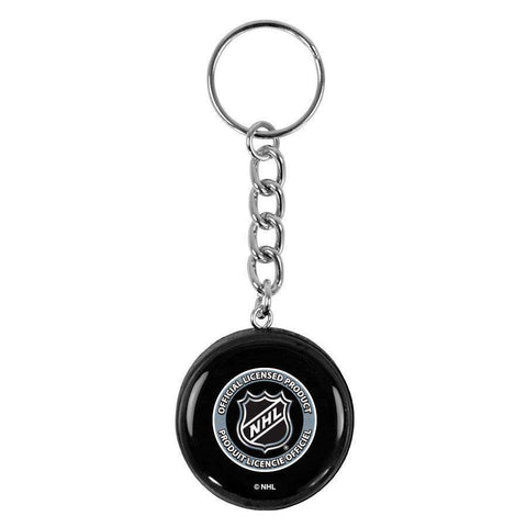 San Jose Sharks Sher-Wood NHL Logo Puck Keychain