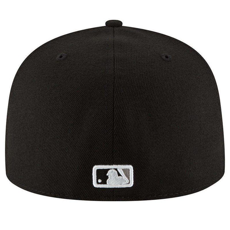 Chicago White Sox New Era MLB AC On-Field 59FIFTY Fitted Hat - Black