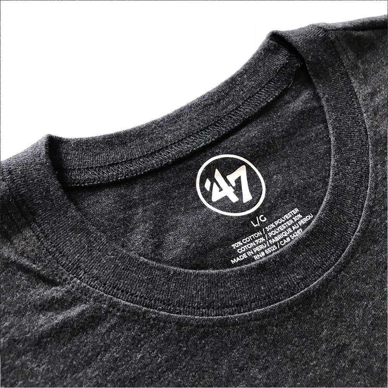 Chicago Blackhawks '47 NHL MVP Club T-Shirt - Charcoal Marle