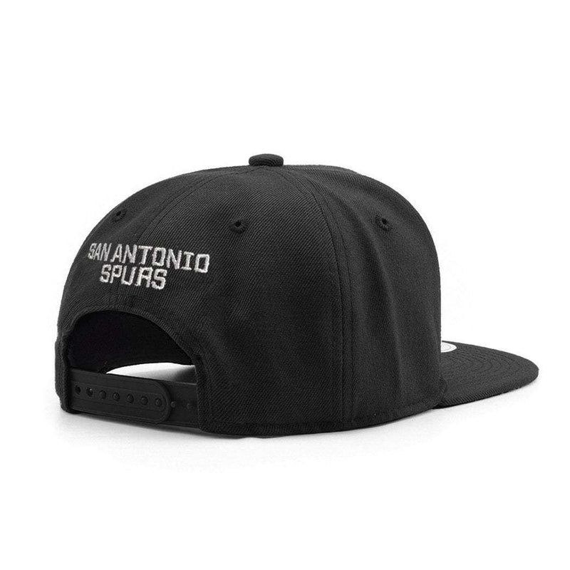 Youths San Antonio Spurs Outerstuff Team NBA Snapback Hat - Black