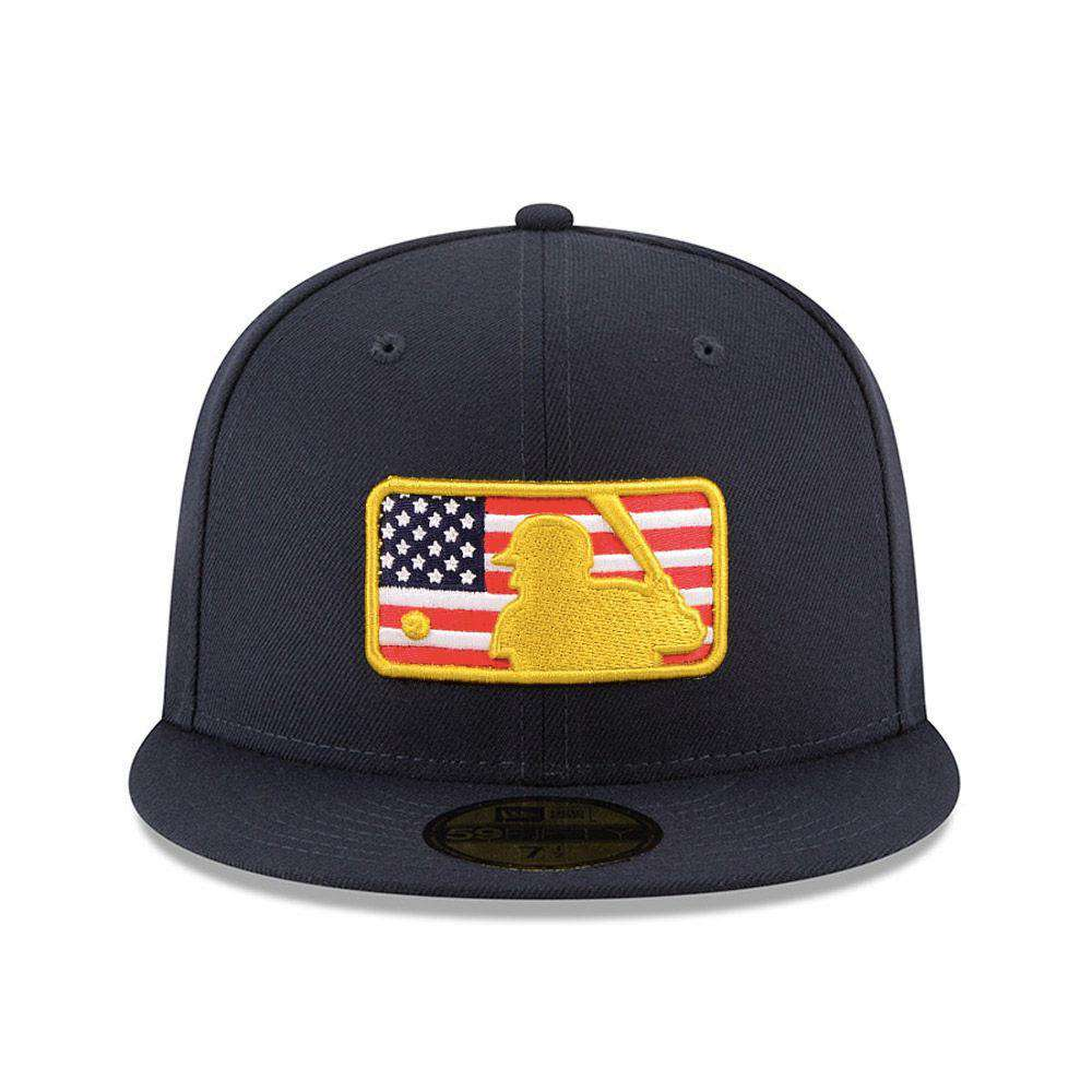 amazon 2018 4th of july stars stripes mlb logo new era ac on field 59fifty  af974 d05d8058474c