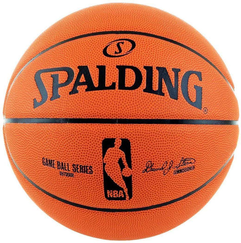Spalding NBA Replica Rubber Outdoor Basketball Ball - Size 7