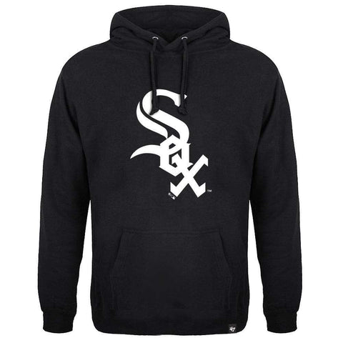 Chicago White Sox '47 MLB Black & White Headline Hoodie Jumper - Black